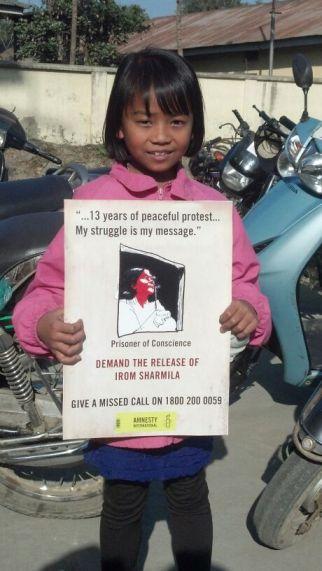 Irom Sharmila Presser